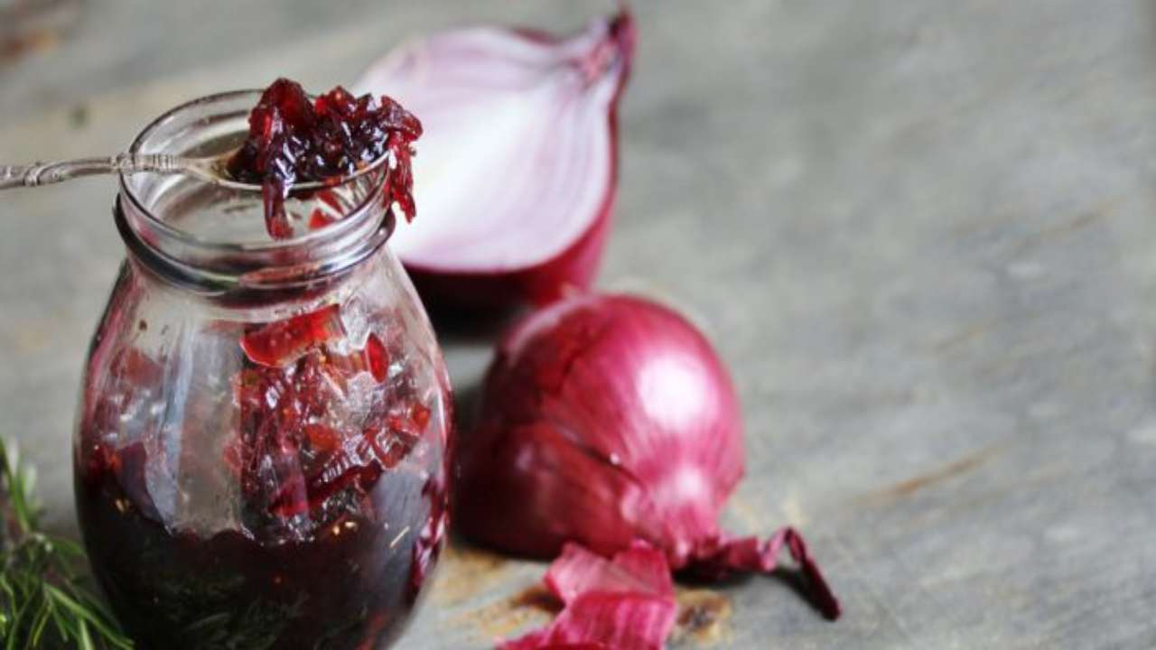 composta cipolle rosse ricetta FOTO ricettasprint