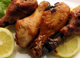 Pollo al forno impanato