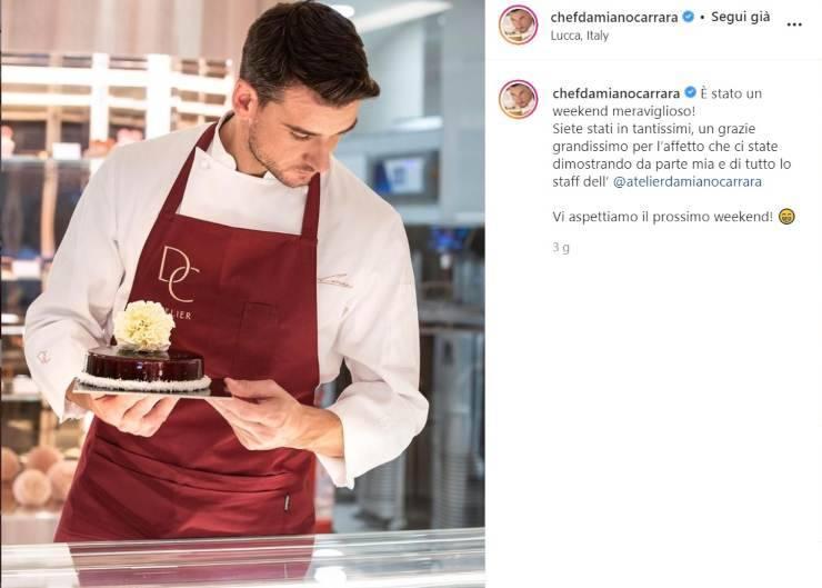 Damiano Carrara un po' più dolce - RicettaSprint