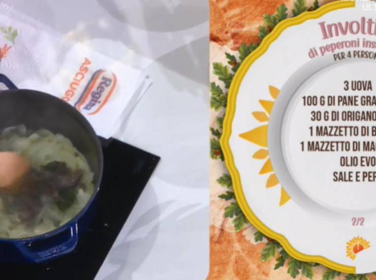 E' sempre Mezzogiorno | Ricetta dello chef Fabio Potenzano | Involtini di peperoni insabbiati