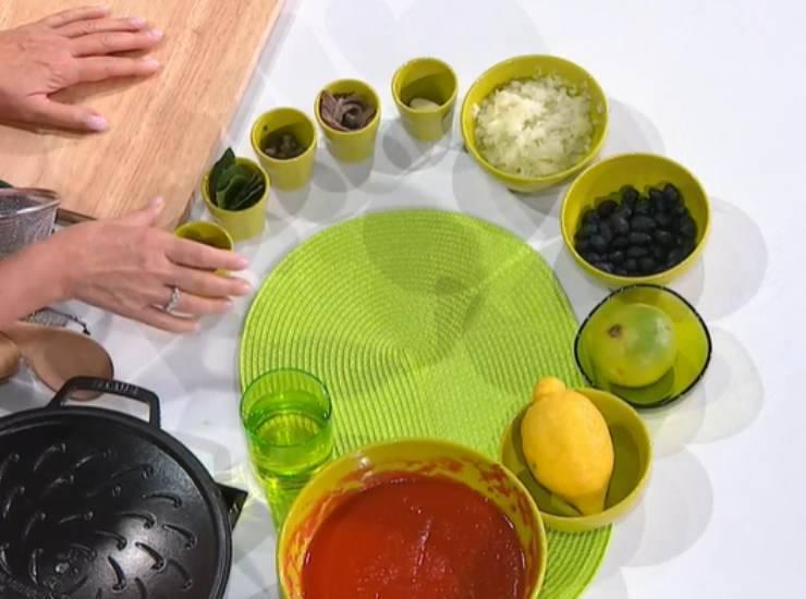 E' sempre Mezzogiorno | Ricetta della chef Caterina Ceraudo | Cavatelli pomodoro e baccalà