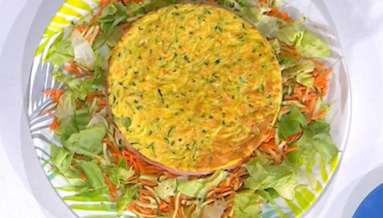E' sempre mezzogiorno   La ricetta della chef Zia Cri   Frittata ripiena