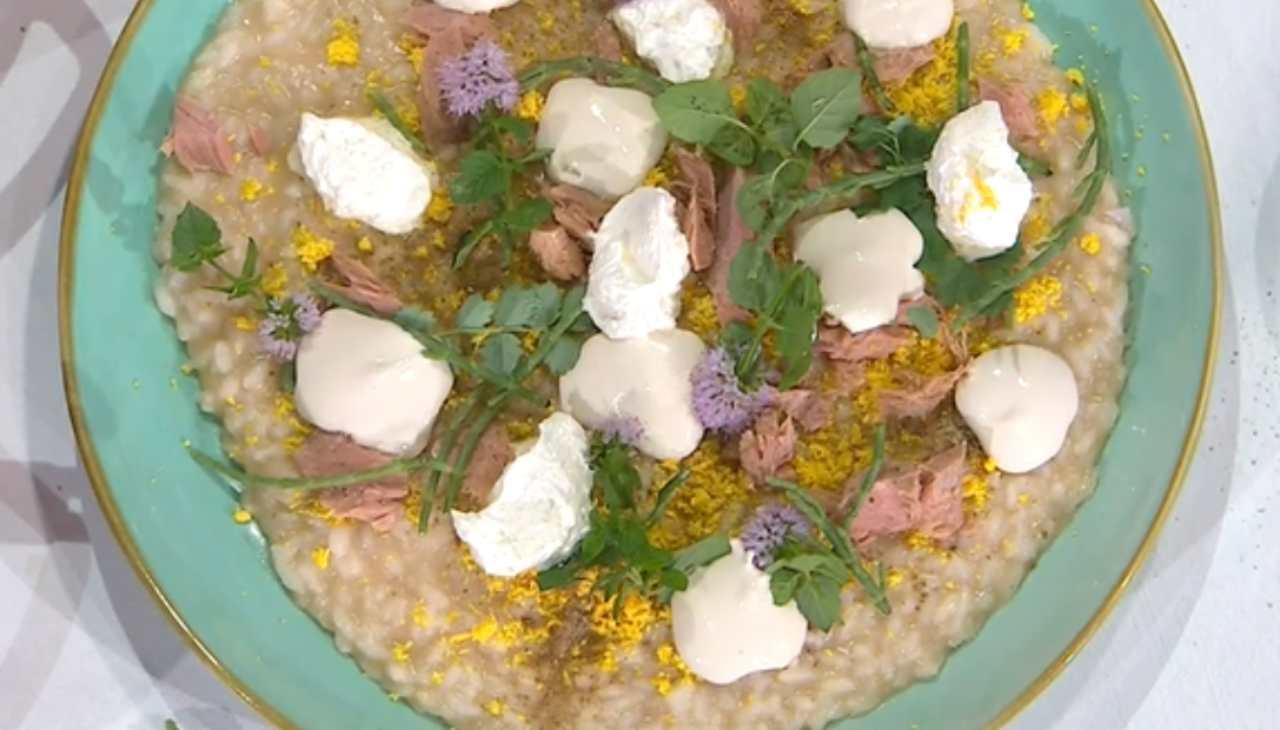 """E' sempre mezzogiorno   La ricetta dello chef Sergio Barzetti   Risotto """"tonnato"""""""