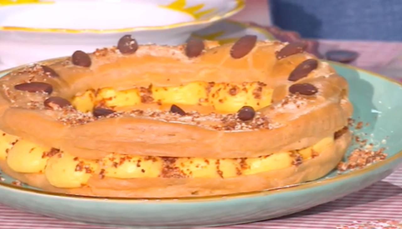 E' sempre mezzogiorno | Ricetta della chef Chloe Facchini | Paris brest