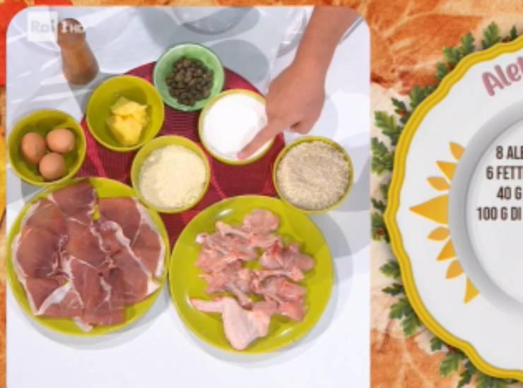 E' sempre mezzogiorno   Ricetta dello chef Daniele Persegani   Alette di pollo croccanti