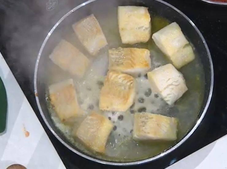 E' sempre mezzogiorno   Ricetta dello chef Federico Fusca   Baccalà alla livornese