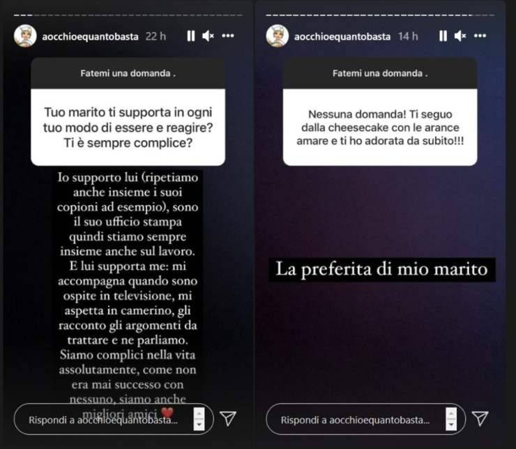 Francesca Barra confidenze - RicettaSprint