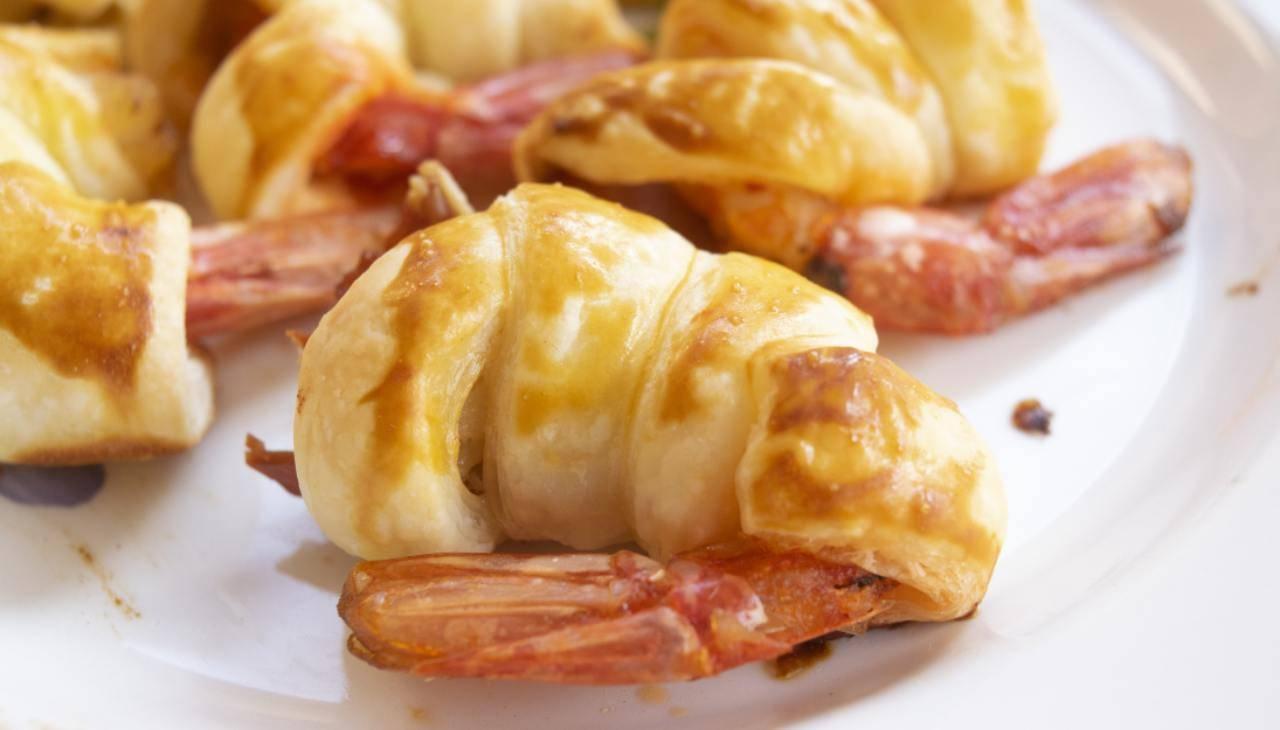 Finger food di crostacei