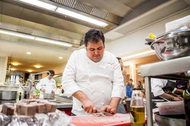 Gennaro Esposito piatto reale - RicettaSprint