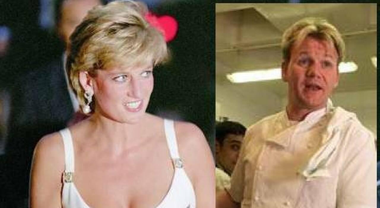 Gordon Ramsay su Lady Diana - RicettaSprint
