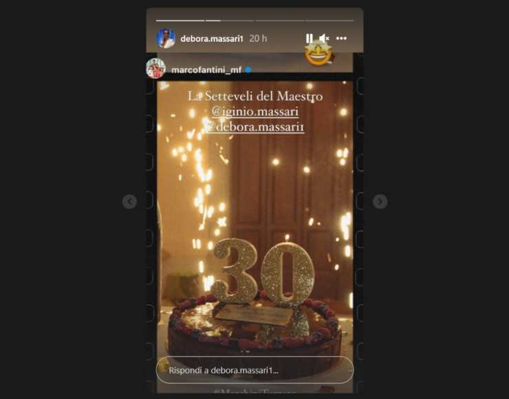 Iginio Massari torta per Marco Fantini - RicettaSprint