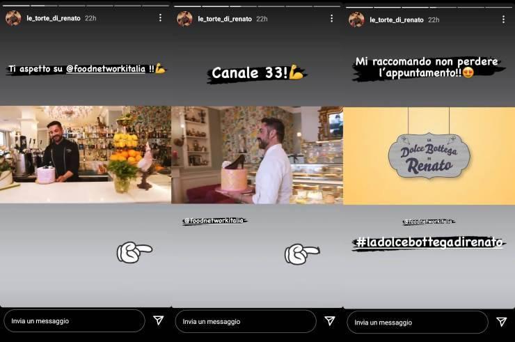Le torte di Renato in tv - RicettaSprint
