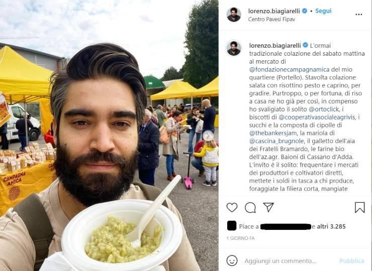 Lorenzo Biagiarelli colazione salata - RicettaSprint