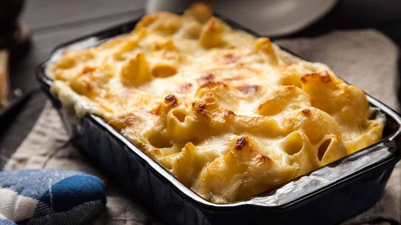 pasta al forno con parmigiano