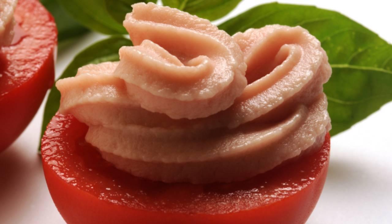 Condimento di ortaggi estivi