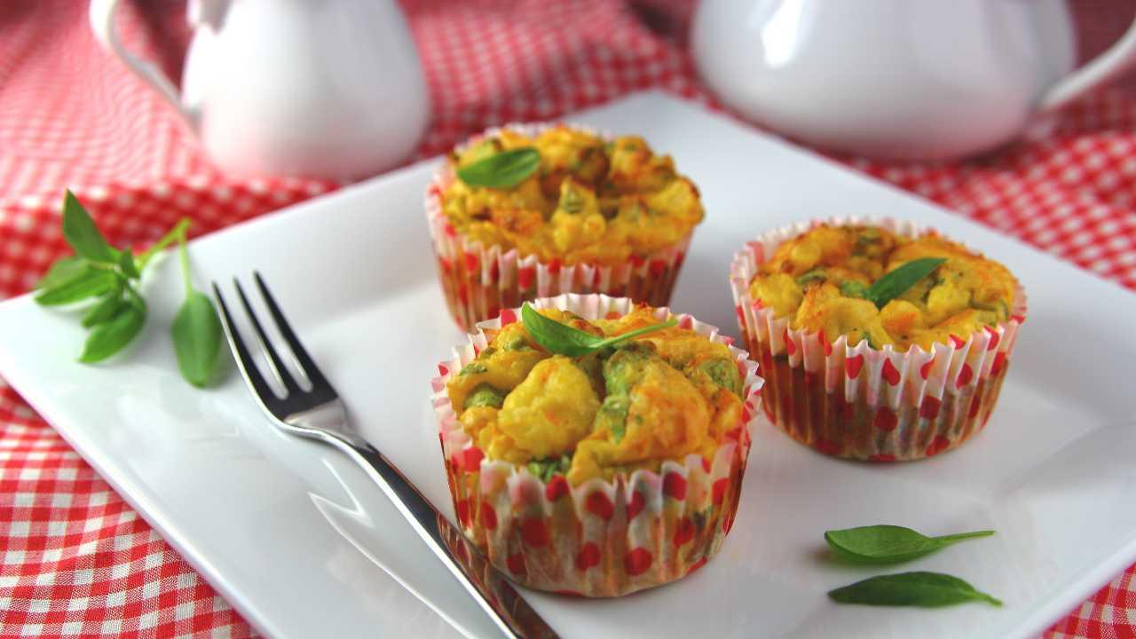 muffin spinaci