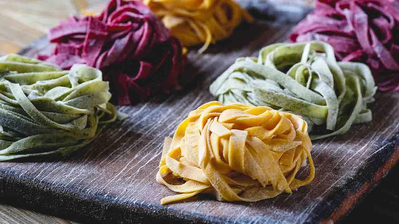 pasta clorata con verdure