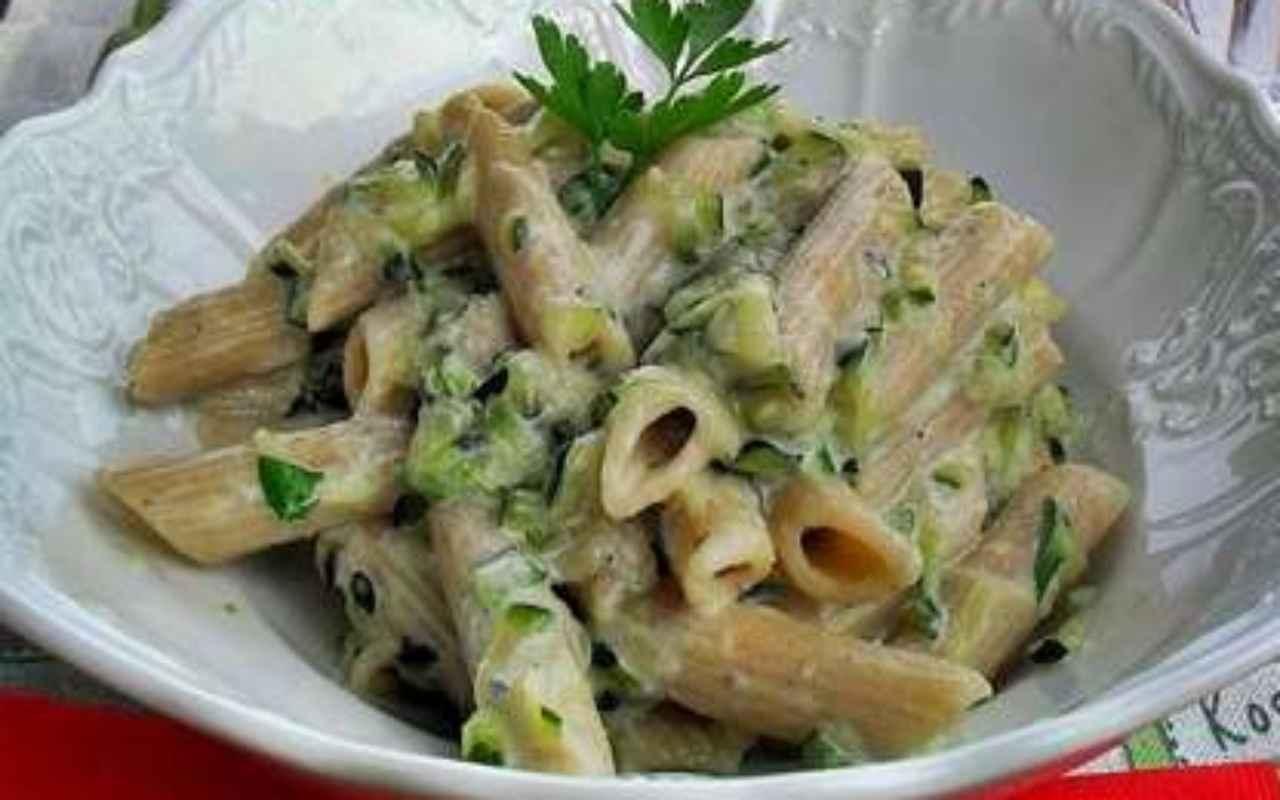 pasta gorgonzola zucchine ricetta FOTO ricettasprint