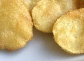 Contorno di patate in pastella