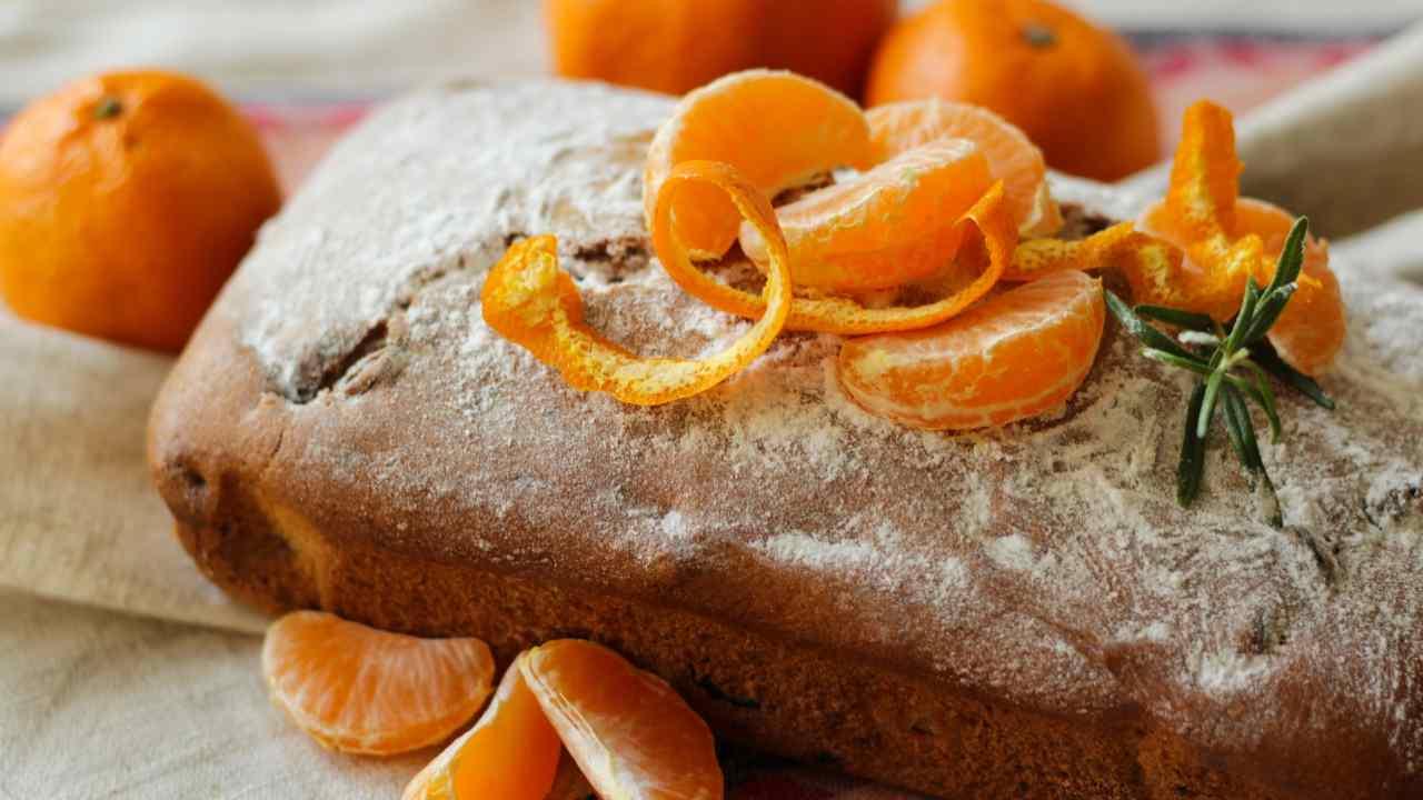Plumcake con mandarini
