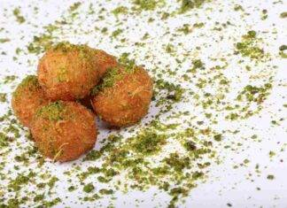 polpette mortadella pistacchi ricetta