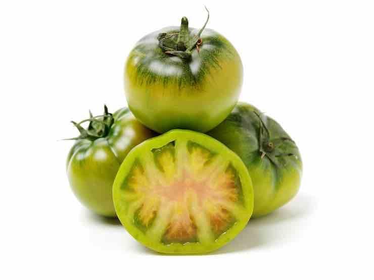 Pomodori verdi piccanti FOTO ricettasprint