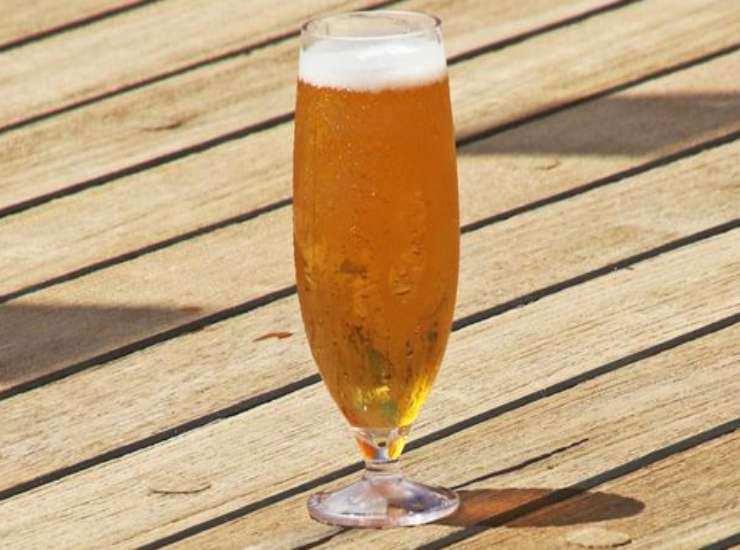 Risotto alla birra zafferano e Grana Padano ricetta