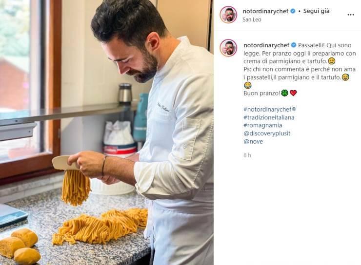 Roberto Valbuzzi mani in pasta - RicettaSprint