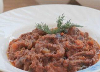 straccetti vitello pizzaiola ricetta FOTO ricettasprint