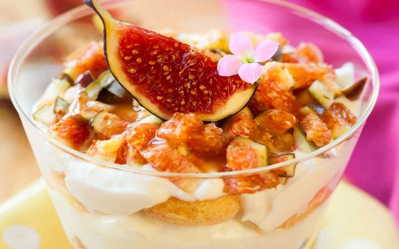 tiramisu fichi ricotta miele ricetta FOTO ricettasprint