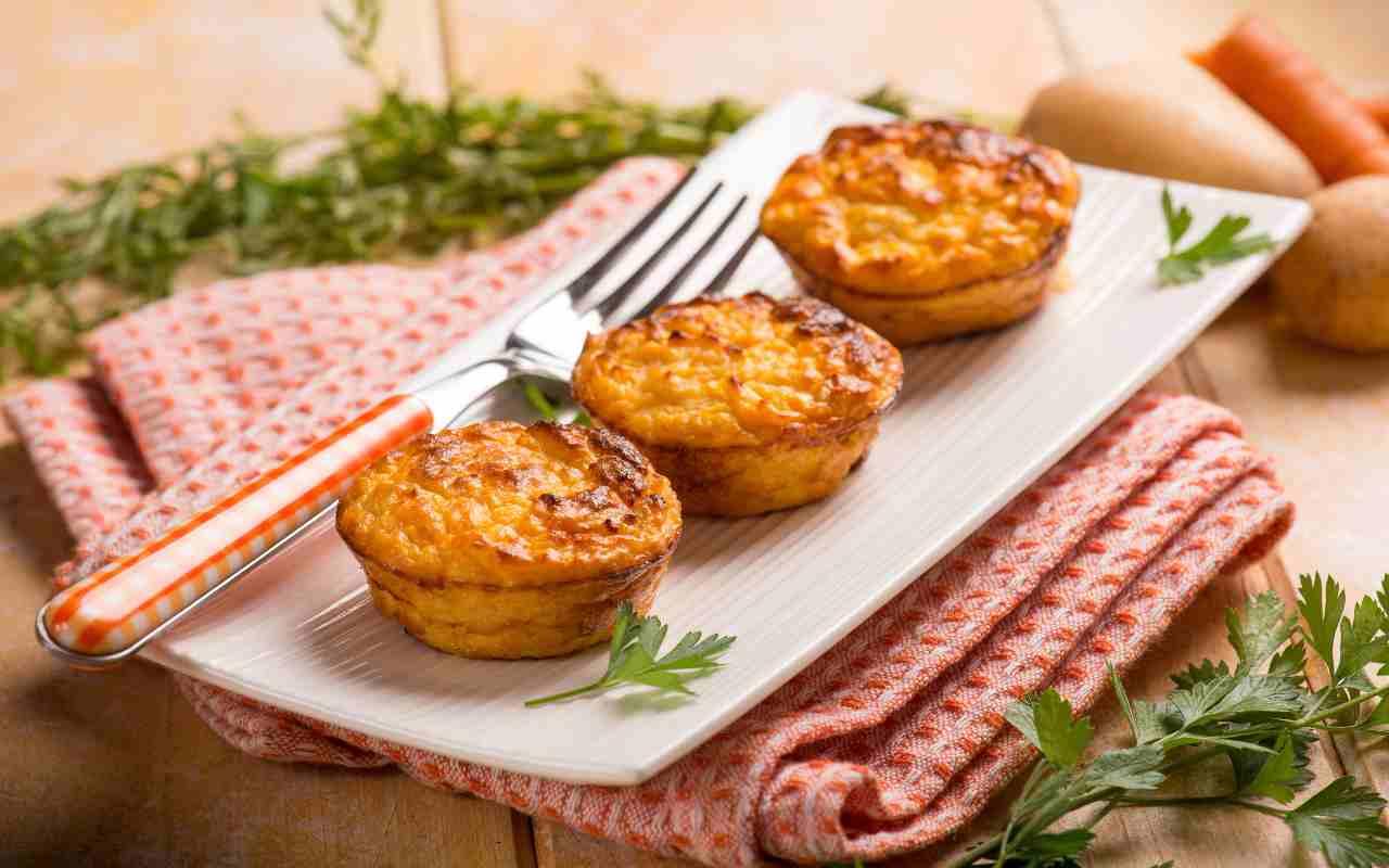 tortino patate porri ricetta FOTO ricettasprint