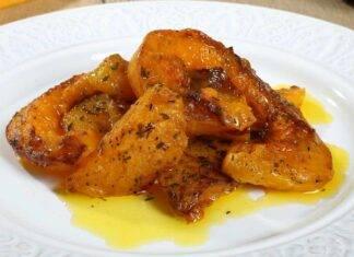 Zucca condita al forno ricettasprint
