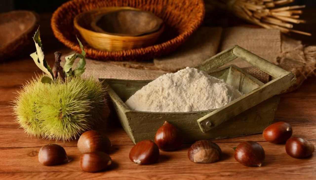 Muffin farina di castagne e cioccolato ricetta