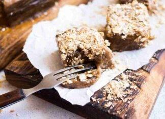 torta avena cioccolato ricetta FOTO ricettasprint