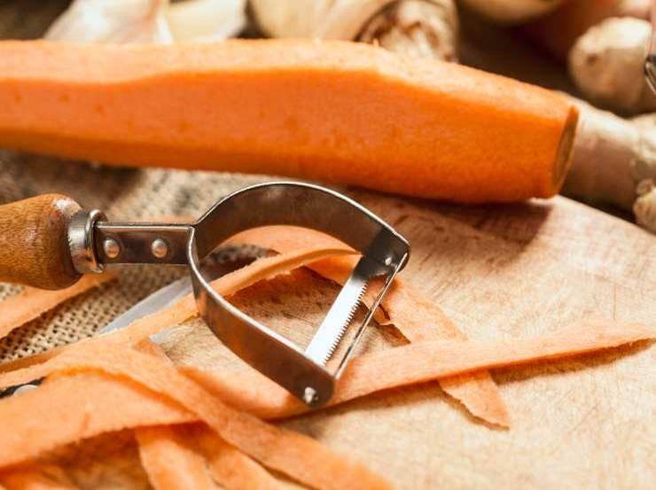 torta carote e albumi