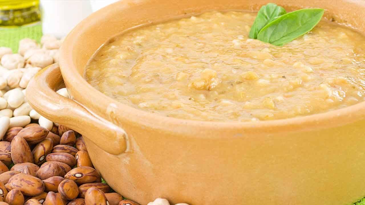 crema di legumi e ortaggi
